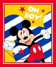 Disney Mickey Mouse Oh Boy Fabric Panel
