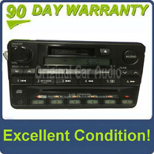 2001 INFINITI QX4 OEM BOSE STEREO AM/FM RADIO 6 CD CHANGER Tape CASSETTE PLAYER