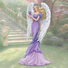 Angel of Caring Figurine  Thomas Kinkade - Bradford Exchange