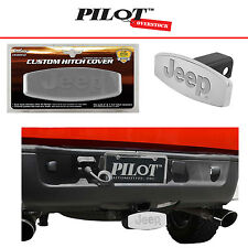 """Bully JEEP Wrangler Rubicon Stainless Steel Tow Hitch Cover 2"""" - US SELLER"""