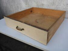 alte Schublade alter Schubkasten altes Schubfach Kasten weiß creme shabby chic