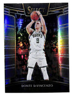 2018-19 Panini Select #67 Donte DiVincenzo Courtside silver rookie Carr Bucks