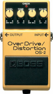 Boss OS-2 OverDrive/Distortion Pedal OS2