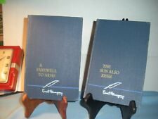 The Sun Also Rises & A Farewell To Arms 2 Hardcover Books By Ernest Hemingway