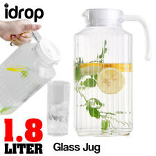 idrop 1.8L Drinking Glass Serving Jug