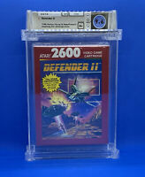 Defender II  --  WATA 9.6 A+   Atari 2600  --  Sealed and Certified  -- NEW