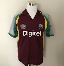 Vintage West Indies Cricket Jersey Medium Admiral Digicel with Tag