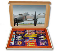 Lancaster Bomber RAF Plane 24 Bar Cadbury Chocolate Hamper Personalised Gift Box