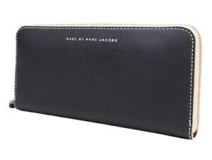 NWT MARC BY MARC JACOBS® Slim Zip Around Wallet, Black / Multi