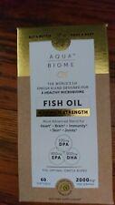 Aqua Biome - Fish Oil Maximum Strength Enzymedica 60 Softgel