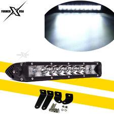 11inch 50W LED Light Bar Driving Off Road ATV Polaris Sportsman Yamaha HONDA 4WD
