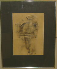 1957 LYMAN KIPP Constructivist ABSTRACT Mixed Media PAINTING - Listed NEW YORK