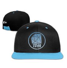 The Diamond Minecart DAN TDM Logo Kids Boys Girls Plain Adjustable Snapback Hats
