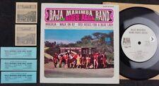 "BAJA MARIMBA BAND Rides Again/Brasilia/Walk On By JUKEBOX 7"" 33⅓ RPM Latin Jazz"