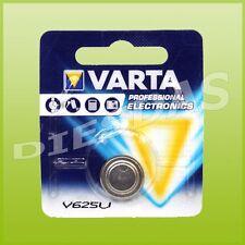 1 Stk. Varta V625U Alkaline Knopf Batterie LR9 PX625 1er Blister 1x