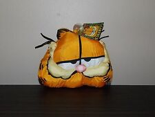 GARFIELD  Head  PLUSH  RARE CAR WINDOW CLING SUCTION CUP NWT