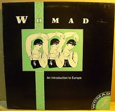 VARIOUS - WOMAD An Introduction to Europe - LP MINT Never Played