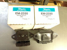 Hornet Gremlin Matador Cherokee 73-77 L6 Front Left and RIght Engine Mount