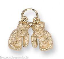 Guante De Boxeo Colgante Guantes De Boxeo Dije Amarillo Oro 6 gramos