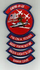 USAF PILOT//NAVIGATOR TRAINING CLASS PATCH SUPTH 13-01 FULL COLOR:GA12-4