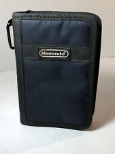 Black Canvas Switch N Carry Carrying Case for Nintendo DS