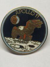 APOLLO 11 XI EAGLE Landing On MOON lunar landing Buzz / Armstrong NASA LAPEL PIN