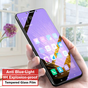 2x Anti Blue Tempered Glass Screen Protector for Huawei Mate Nova P Smart Y Note