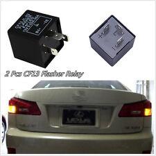 2 X Professional 3-Pin Car Flasher Relay CF13 JL-02 Fix LED Turn Signal Blinker