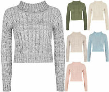 Chunky, Cable Knit Viscose Regular Jumpers & Cardigans for Women