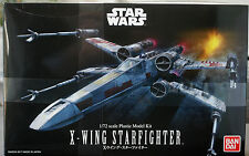Star Wars X-Wing fighter r2-d2 & r5-d4, 1:72, Bandai 191406 nuevo 2017