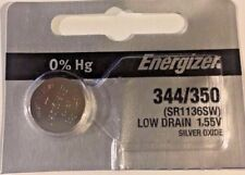 1 NEW ENERGIZER 344/350 SR1136SW Silver Oxide Watch Battery 1.55V- USA Seller
