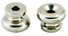 TGI Strap Buttons 1 Pair in Nickel - Retro fit a Guitar Strap!