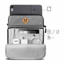 iPad Pro 12.9 Case 3rd Gen Slim Lightweight Shoulder Bag With Pencil Holder Grey