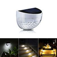 Impermeabile LED Solare Luce a muro Sensore di luce Lampada da giardino esterno
