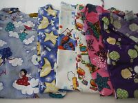 WOMANS LOT OF SCRUB  TOPS   6 TOPS NICE    SIZE LARGE (BOX 381)