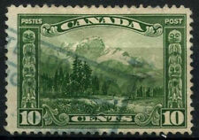 Canada 1928-9 SG#281, 10c Green Mt. Hurd Used #D45417