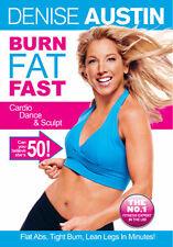 DENISE AUSTIN - FAT BURNING DANCE MIX - DVD - REGION 2 UK
