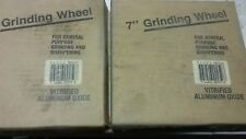 "7"" GRINDING WHEELS, 2 PCS. MEDIUM GRIT ALUM/OXIDE  7""X1""X1""ID"