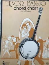 Tenor Banjo Chord Chart by Ron Middlebrook Low & Middle Position