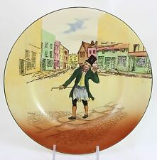 Antique Dickens Collector Cabinet Plate Royal Doulton China D5175 Trotty Veck