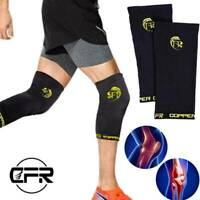Knee Sleeve Compression Brace Support Sport Joint Pain Arthritis Relief Cooper