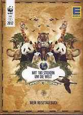 EDEKA mit 180 Stickern um die Welt -Reisetagebuch komplette Sammlung + Leeralbum