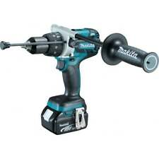 Makita DHP481RTJ 18 V Brushless Combi Perceuse 2 X 5.0ah Batteries Chargeur + Ma...