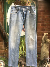 "Original Levi Levis 501 button fly jeans 34"" x 34"""