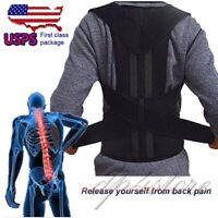 Pain Relief Comfort Posture Corrector and Back Support Brace Physical Therapy US