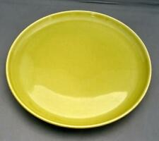 """Vintage RUSSELL WRIGHT Steubenville Chartreuse Green 10"""" Dinner Plate"""