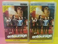 Brand NEW Playstation Portable PSP UMD Entourage First Season One 1 Disk 1 2 Two