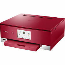 Canon Pixma Ts8220 All in One Wireless Inkjet Photo Printer - Red - Brand New