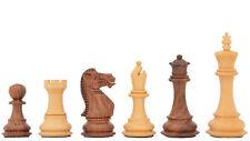 Gewichtete Staunton Sheeshamholz Schachfiguren – Handgefertigt – chessbazaar