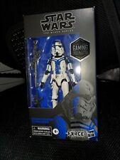 Star Wars The Force Unleashed Black Series Stormtrooper Commander figure